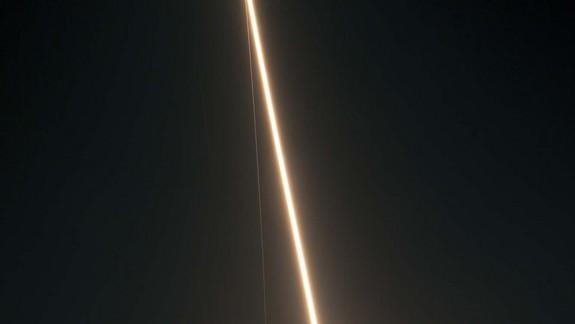 Wow! NASA Photos Capture Dazzling Nighttime Rocket Launch