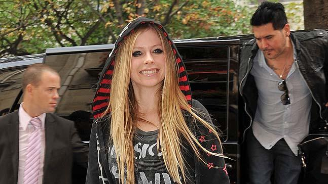 Avril Lavigne Paris