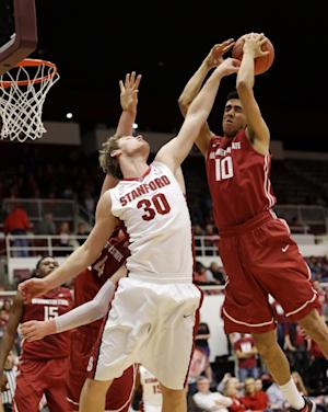 Huestis helps Stanford beat the Cougars 80-48