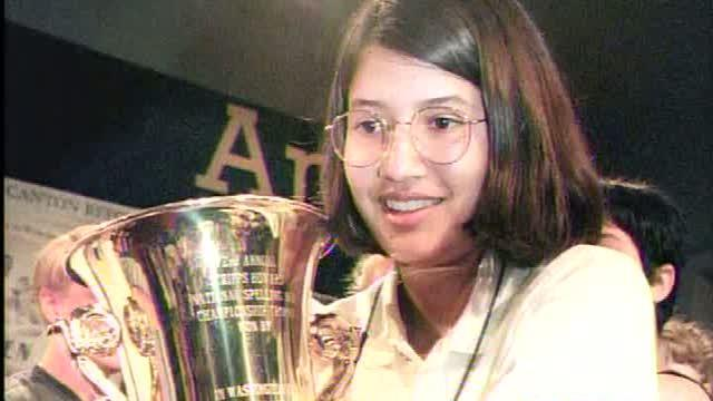 Catching up with '99 National Spelling Bee champ Nupur Lala