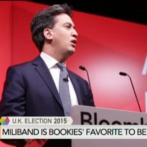 Bookies Say Miliband Most Likely Next Prime Minister