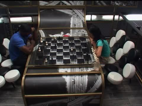 Big Brother Feed Clip: Howard and Helen Play Chess