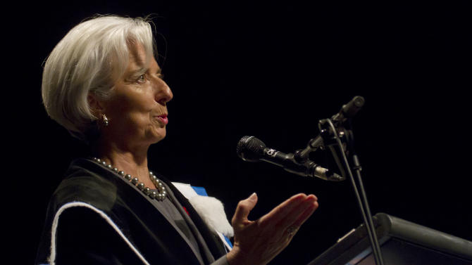 IMF chief urges further debt reduction