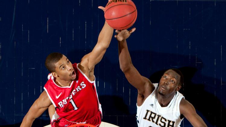 NCAA Basketball: Rutgers at Notre Dame