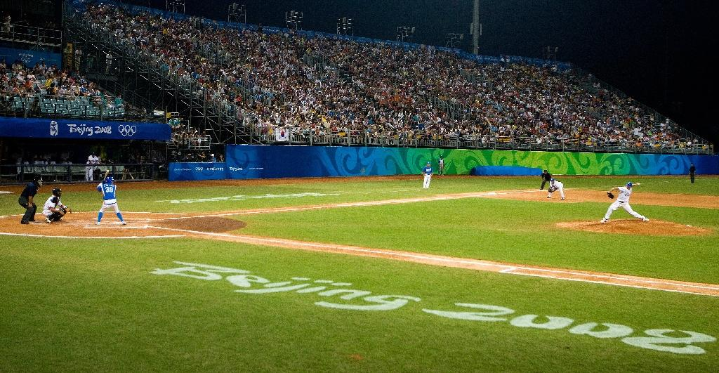 Fukushima makes pitch for 2020 baseball, and local food