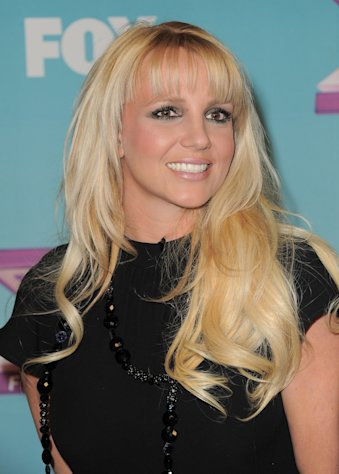 "Britney Spears attends the ""The X Factor"" season finale at CBS Television City on Thursday, Dec. 20, 2012, in Los Angeles. (Photo by Jordan Strauss/Invision/AP)"