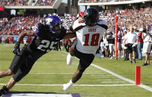 No. 18 Texas Tech pulls 3-OT win at TCU, 56-53