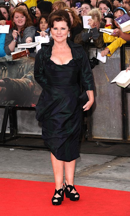 Harry Potter and the Deathly Hallows Part 2 UK Premiere 2011 Imelda Staunton