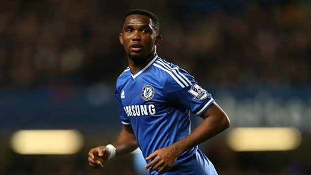 Samuel Eto'o, pictured, has not taken Jose Mourinho's comments about his age to heart
