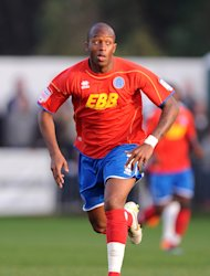 Anthony Straker moved from Aldershot to Southend in the summer