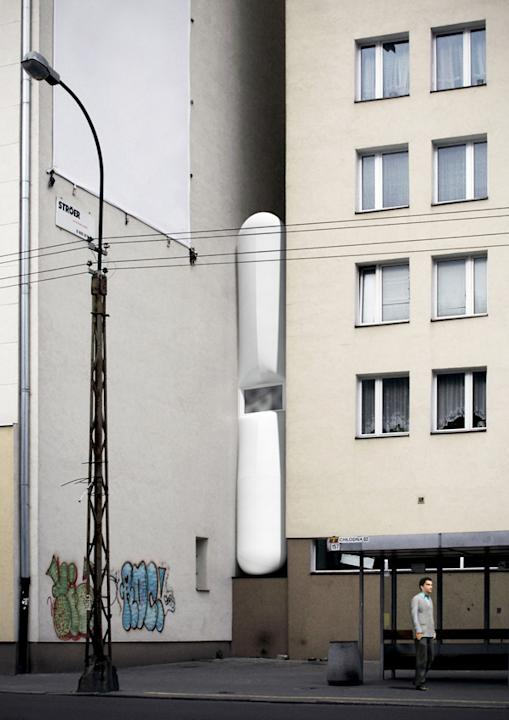 The world's thinnest building in pictures