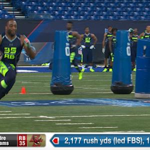 2014 Combine workout: Andre Williams