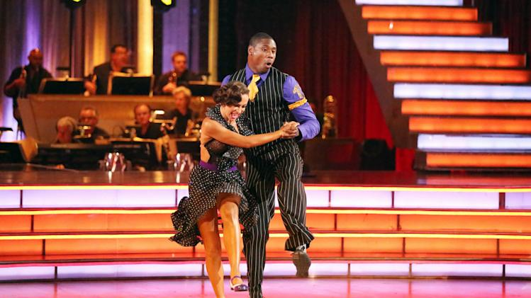 Karina Smirnoff and Jacoby Jones (5/13/13)