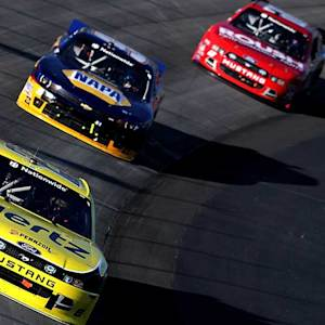 Logano, Smith left wondering, Buescher pleased