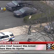 Former Firefighter Reportedly In Custody Following Hostage Situation Inside Elkins Park Firehouse