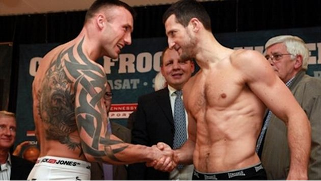 Boxing - Froch threatens to 'kill' and 'nut' Kessler
