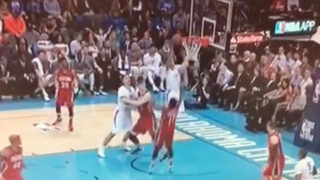 Kevin Durant And Russell Westbrook Connect For A Mesmerizing Alley-Oop