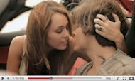"Miley Cyrus and Kevin Zegers in a video for Rock Mafia's ""Big Bang"" -- YouTube"