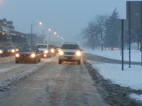 Photos: Winter Weather, Icy Roads Hit Metro Detroit