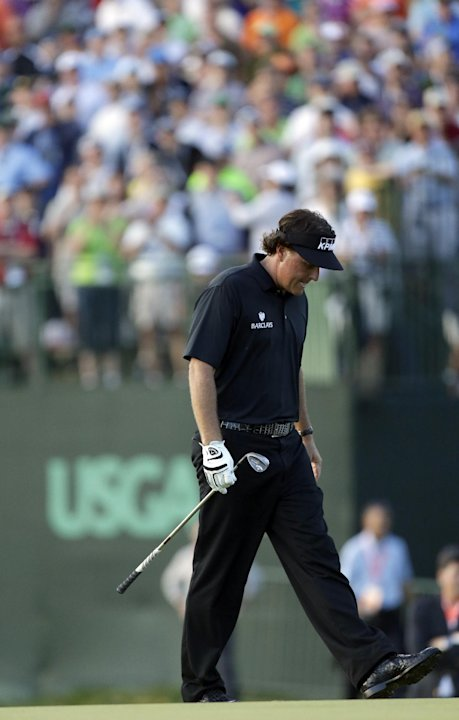 Mickelson has silver market cornered in US Open