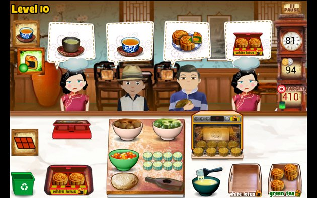 Lessons from Asian cooking game apps