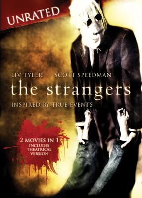 DVD box art for Universal Studios Home Entertainment's The Strangers