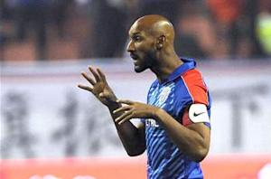 Nicolas Anelka says he will play out his career at Shanghai Shenhua