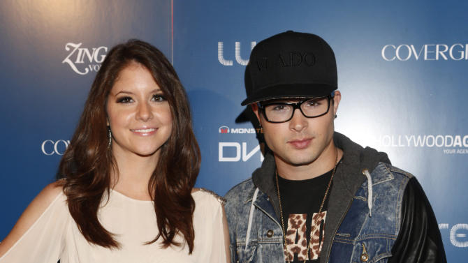 Brittany Underwood and Cody Longo attend the US Weekly AMA After Party for The Wanted at Lure on Sunday November 19, 2012 in Los Angeles, California.  (Photo by Todd Williamson/Invision/AP Images)
