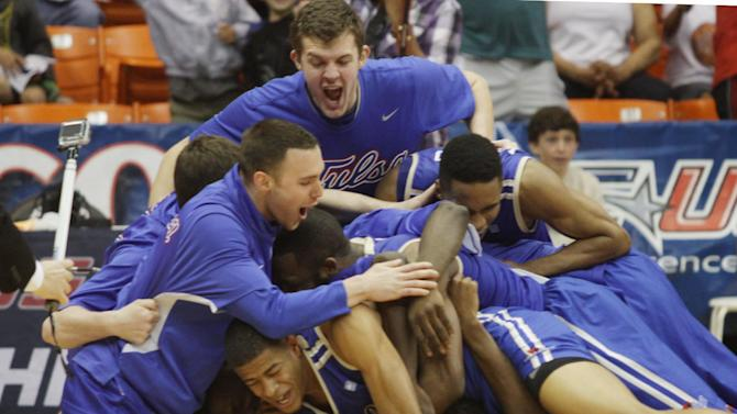 Tulsa tops LaTech 69-60 for Conference USA title