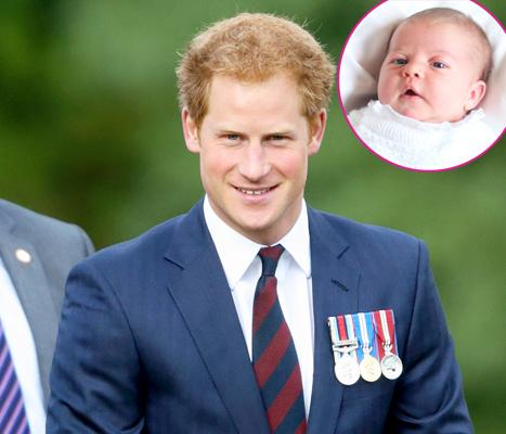 "Prince Harry Calls Himself a ""Bad Uncle"" After Missing Princess Charlotte's Christening"