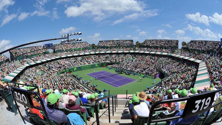 Tennis: Sony Open Finals-Ferrer vs Murray