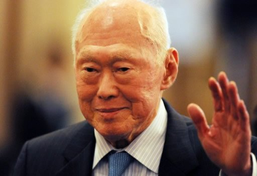 Former Minister Mentor Lee Kuan Yew says foreign talent is vital in ensuring better growth.