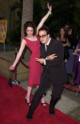 Premiere: Jane Adams (II) and Michael Panes at the Hollywood premiere of Fine Line's The Anniversary Party - 6/6/2001 Jane Adams