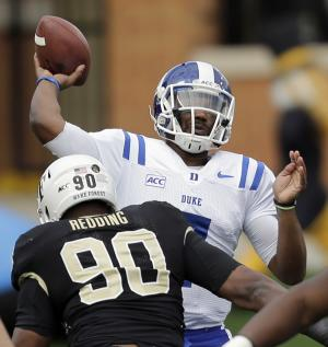 Boone, No. 25 Duke beat Wake Forest, 28-21