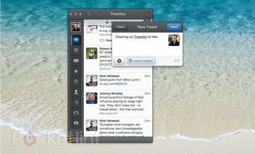 Hands-on: Tweetbot for Mac review  . Software, Mac software, Tapbots, Tweetbot for iPad 0