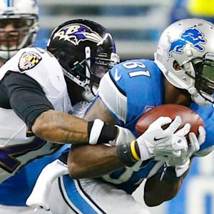 Detroit Lions wide receiver Calvin Johnson 37-yard catch