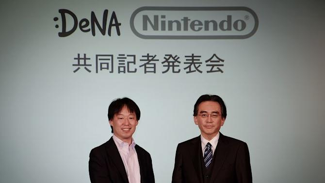 Nintendo turns its first annual profit since 2011