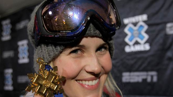 Sarah Burke Of Whistler, Canada Poses Getty Images