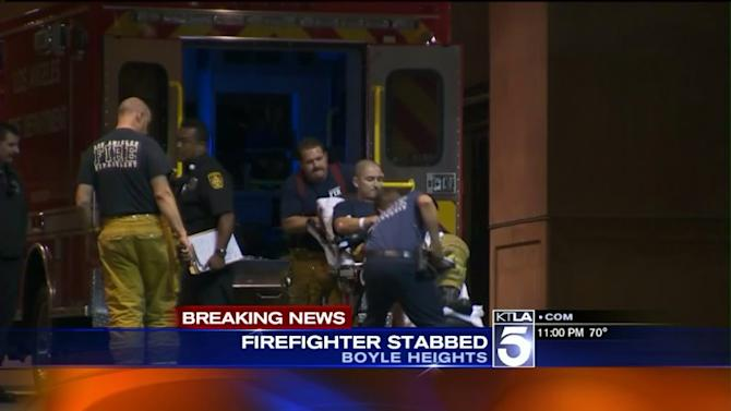 Firefighter Stabbed by Patient in Hospital Emergency Room in Boyle Heights