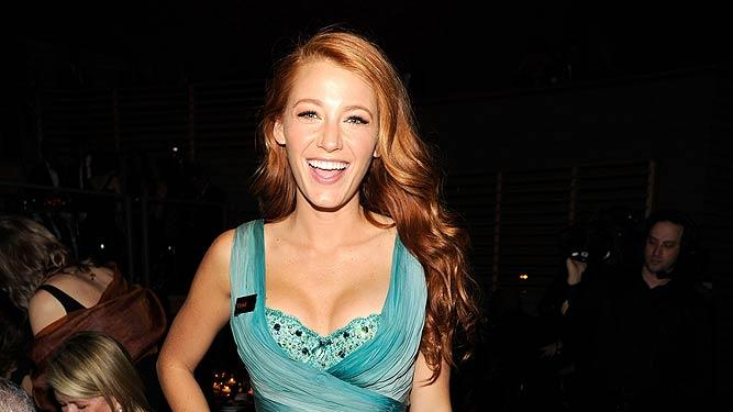 Blake Lively Time Warner Inflntl