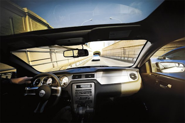 A panoramic glass roof is available on both the GT and V-6 models.