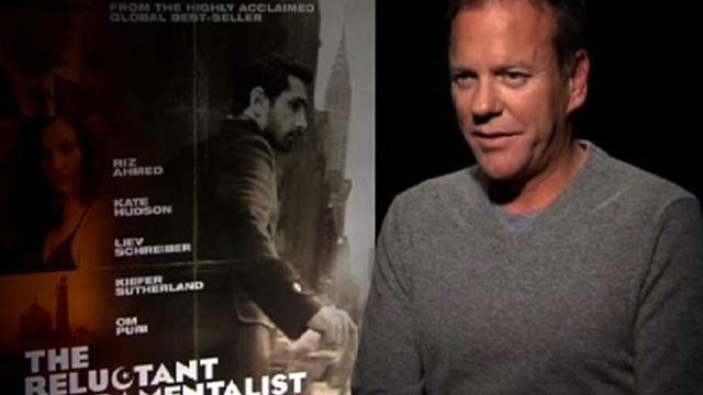"Kiefer Sutherland, Kate Hudson talk ""The Reluctant Fundamentalist"""