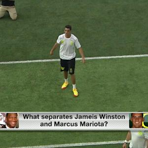 What separates Winston from Mariota?