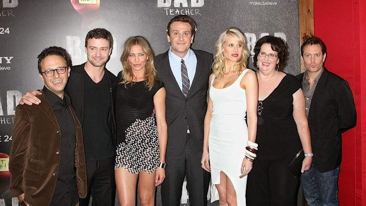 Bad Teacher NY Premiere 2011 Jake Kasdan Justin Timberlake Cameron Diaz Jason Segal Lucy Punch Phyllis Smith Tom Lennon