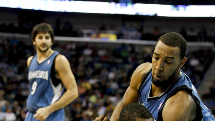 NBA: Minnesota Timberwolves at New Orleans Hornets