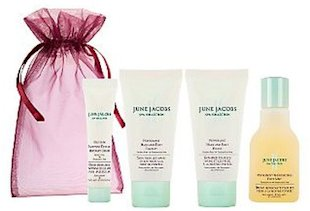 june jacobs pepppermint hand and foot travel kit