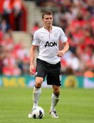 Michael Carrick concedes he feels far more comfortable in a familiar midfield berth