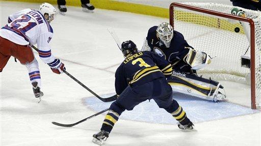 Foligno scores 2 in Sabres' 3-1 win over Rangers