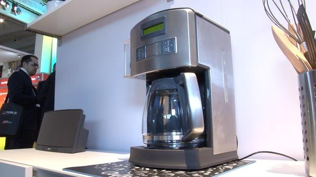 Hands-on with Qualcomm's Wi-Fi coffee machine