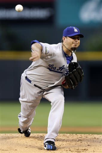 Rockies spoil Dodgers debut of Beckett, 10-0